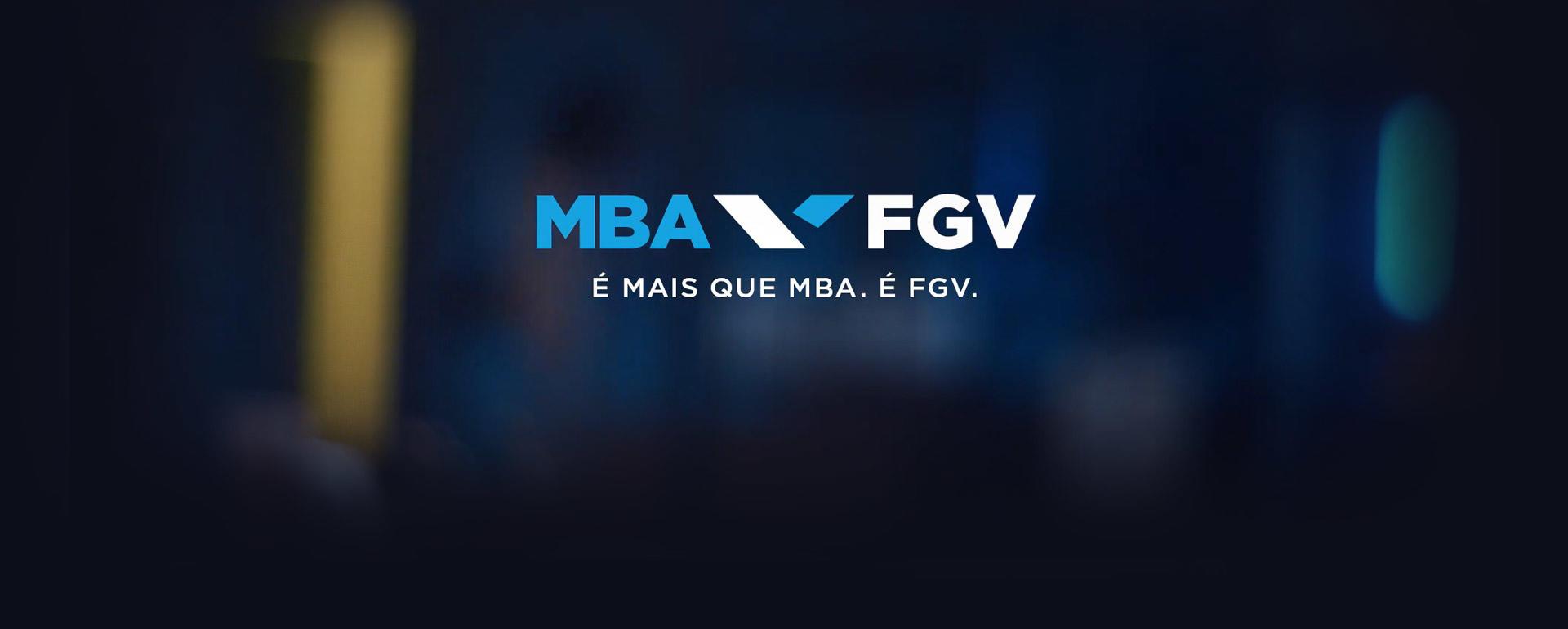 É mais que MBA. É FGV.